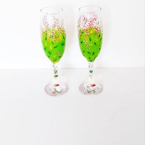 Spring Mood – Champagne flutes